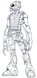 01 Cosmic Enforcer concept art
